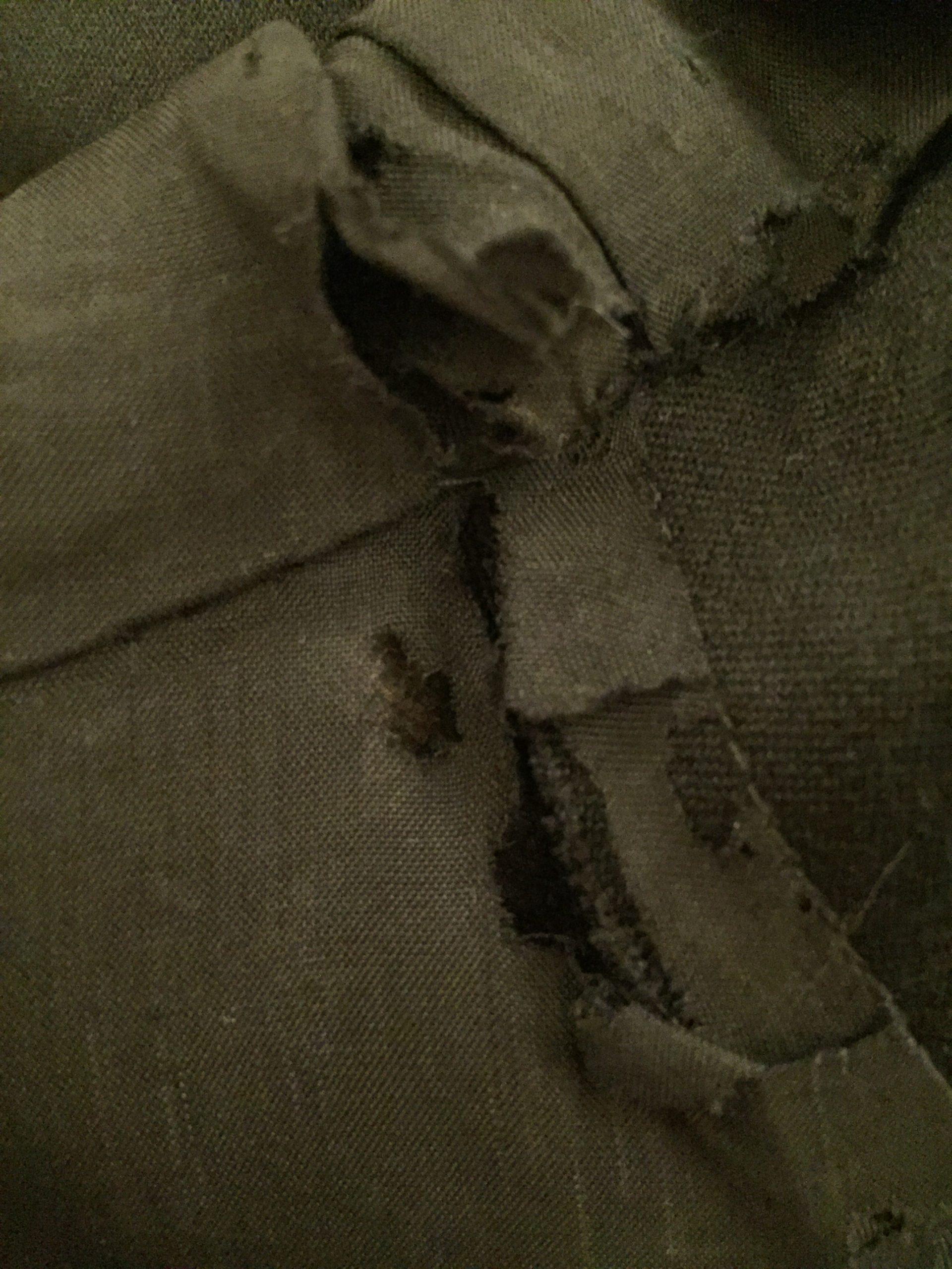 Black Military Peplum Jacket Lining