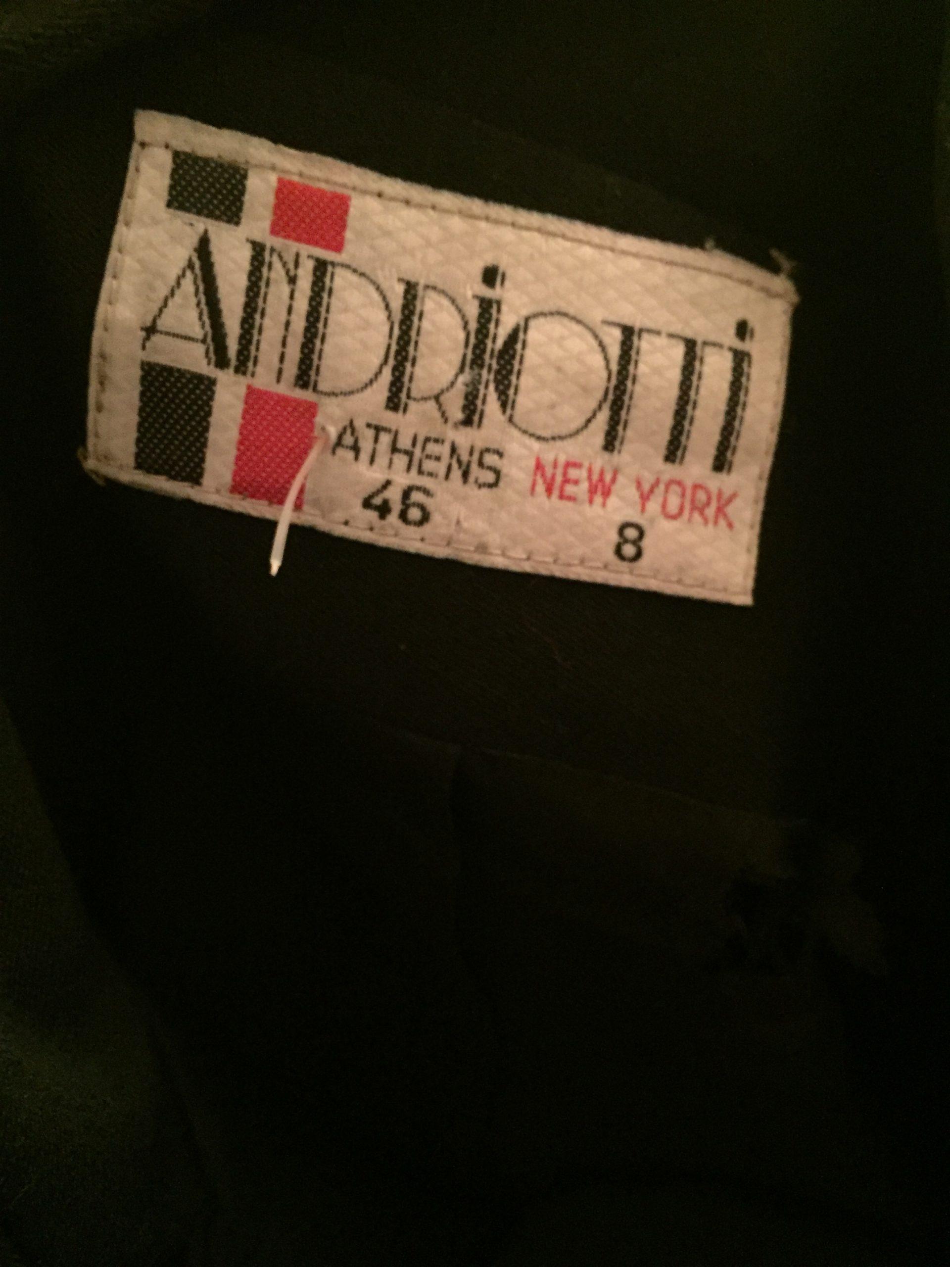 Black Military Peplum Jacket size label